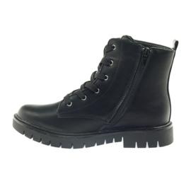 American Club American super Workery buty zimowe czarne żółte czerwone 2