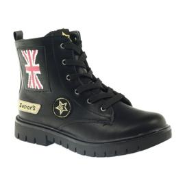 American Club American super Workery buty zimowe czarne żółte czerwone 1