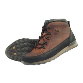 Riko buty męskie trekkingi rude 860 4