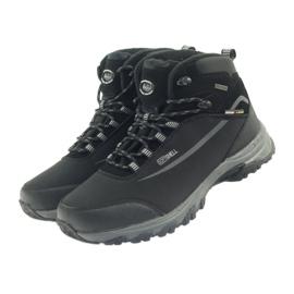 American Club American trekkingi buty zimowe z membraną czarne 3