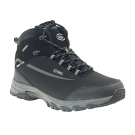 American Club American trekkingi buty zimowe z membraną czarne 1