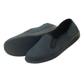 Befado buty męskie tenisówki kapcie 013M312 czarne 4