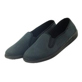 Befado buty męskie tenisówki kapcie 013M312 czarne 3