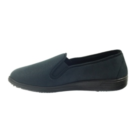 Befado buty męskie tenisówki kapcie 013M312 czarne 2