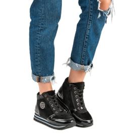 Aclys Sneakersy czarne 5