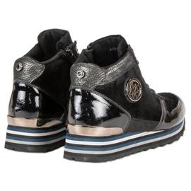 Aclys Sneakersy czarne 3
