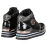 Aclys czarne Sneakersy zdjęcie 3