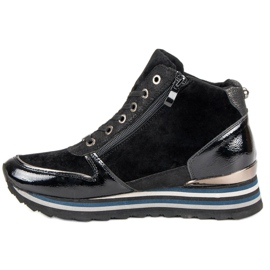 Aclys Sneakersy czarne 2