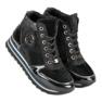 Aclys czarne Sneakersy zdjęcie 7