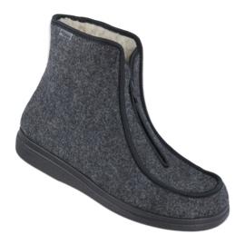 Befado obuwie męskie pu 996M004 szare 1