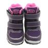 American Club fioletowe American kozaki buty zimowe z membraną 3121 zdjęcie 3
