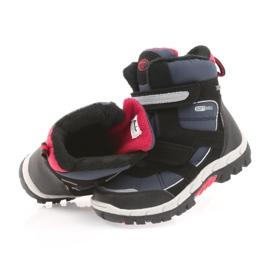 American Club American kozaki buty zimowe z membraną 1813 czarne czerwone granatowe 4