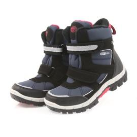 American Club American kozaki buty zimowe z membraną 1813 czarne czerwone granatowe 3