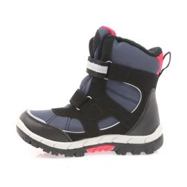 American Club American kozaki buty zimowe z membraną 1813 czarne czerwone granatowe 2