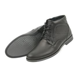 Riko buty męskie botki sztyblety 861 czarne 4