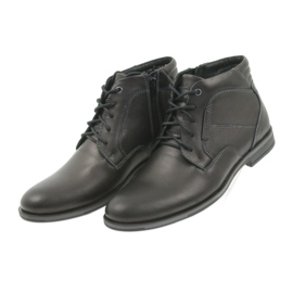 Riko buty męskie botki sztyblety 861 czarne 3