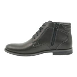 Riko buty męskie botki sztyblety 861 czarne 2
