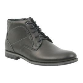 Riko buty męskie botki sztyblety 861 czarne 1