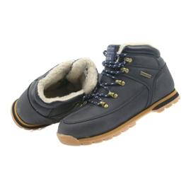 American Club American kozaczki buty zimowe 152619 granatowe 4