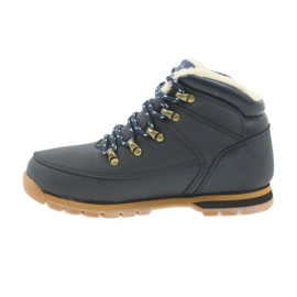 American Club American kozaczki buty zimowe 152619 granatowe 2