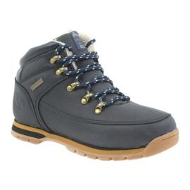 American Club American kozaczki buty zimowe 152619 granatowe 1