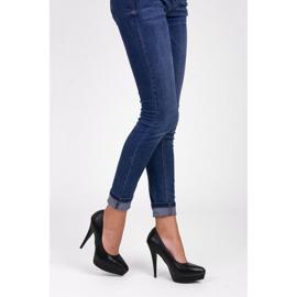 Vices Czółenka black heels czarne 6