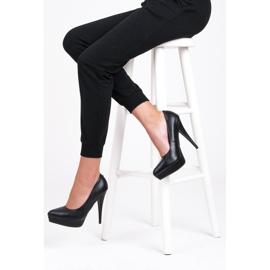 Vices Czółenka black heels czarne 5