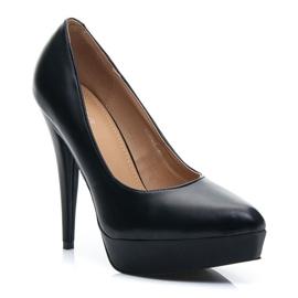 Vices Czółenka black heels czarne 2