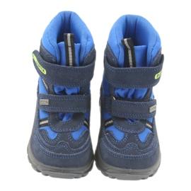 Kozaczki z membraną Bartek 41931 niebieskie granatowe 3