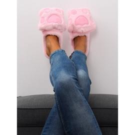 Kapcie damskie różowe DD93 Pink 3