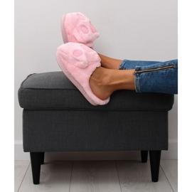Kapcie damskie różowe DD93 Pink 5