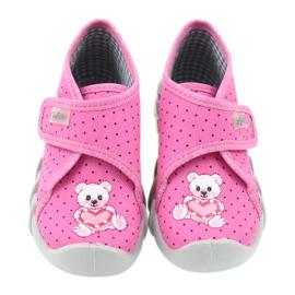 Befado buty dziecięce kapcie 112P185 różowe 5