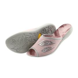 Befado buty damskie kapcie 254D098 4
