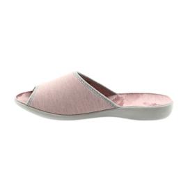 Befado buty damskie kapcie 254D098 2