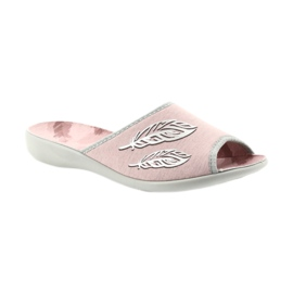 Befado buty damskie kapcie 254D098 1