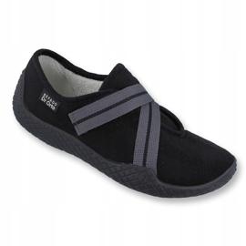 Befado obuwie damskie pu--young 434D014 czarne 1