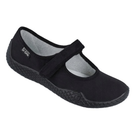 Befado obuwie damskie pu--young 197D002 czarne 1