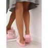 Kapcie damskie króliczki różowe MA01 Pink 4
