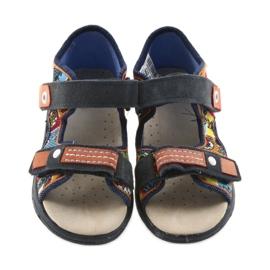 Befado obuwie dziecięce sandałki 065P117 wielokolorowe 3