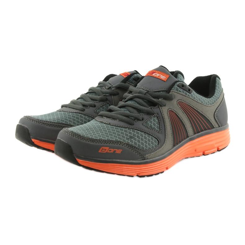 ADI sportowe buty męskie B.one 15-04-011 szare zdjęcie 3