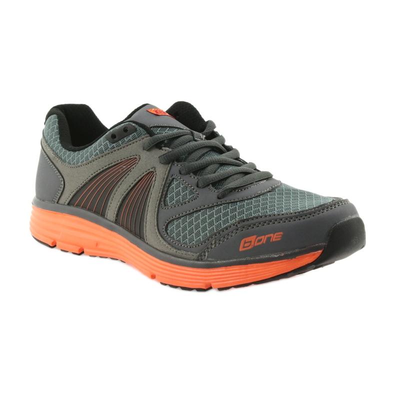 ADI sportowe buty męskie B.one 15-04-011 szare zdjęcie 1