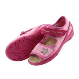 Befado buty dziecięce sandałki wkladka skórzana 433X032 4