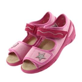 Befado buty dziecięce sandałki wkladka skórzana 433X032 3
