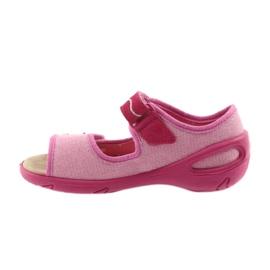 Befado buty dziecięce sandałki wkladka skórzana 433X032 2