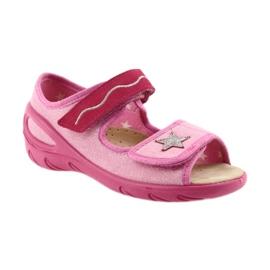 Befado buty dziecięce sandałki wkladka skórzana 433X032 1