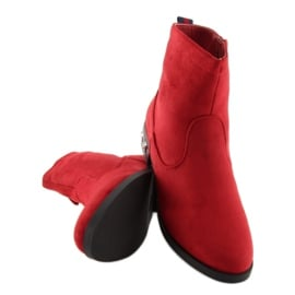 Botki damskie czerwone 168-176 Red 2