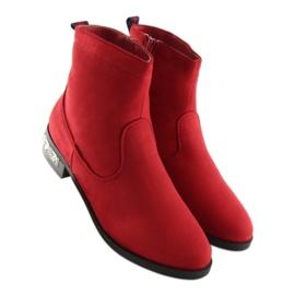 Botki damskie czerwone 168-176 Red 7