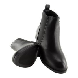 Sztyblety damskie czarne 3776 Black 6
