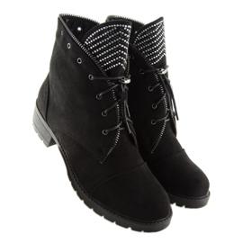Workery damskie czarne GF055 Black 2