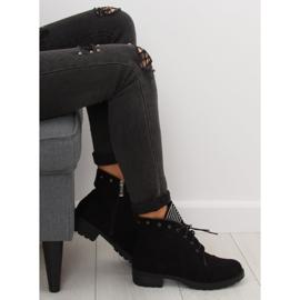 Workery damskie czarne GF055 Black 4
